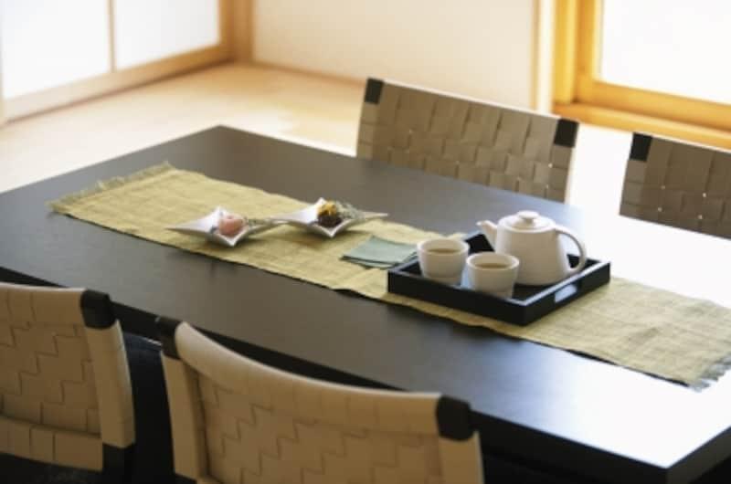 和室は客間としても利用できる「多目的空間」。上手に利用しよう。