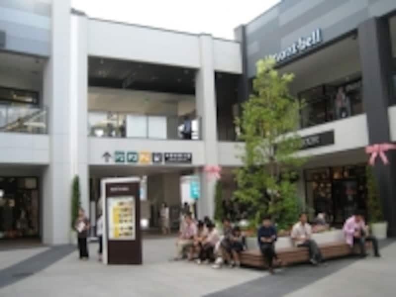 中野栄駅方面 MOP仙台港