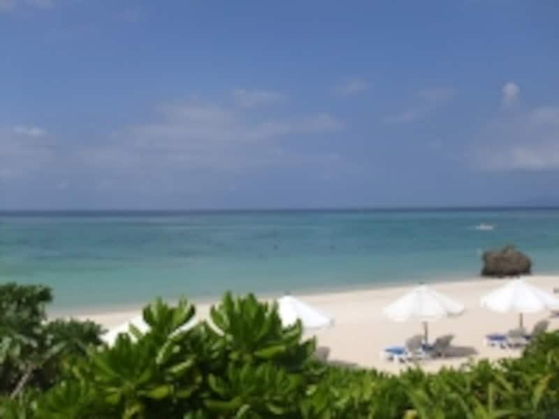 クラブメッド石垣島のプライベートビーチ