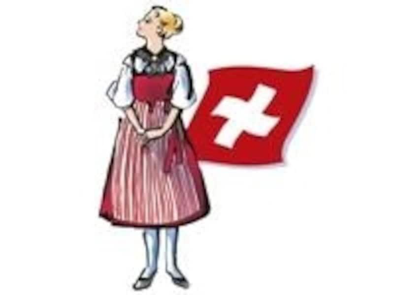 観光地としても人気のあるスイス