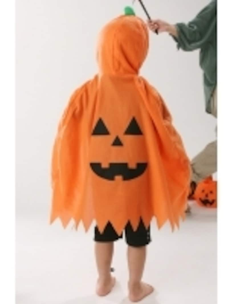 かぼちゃのマントは定番ですね