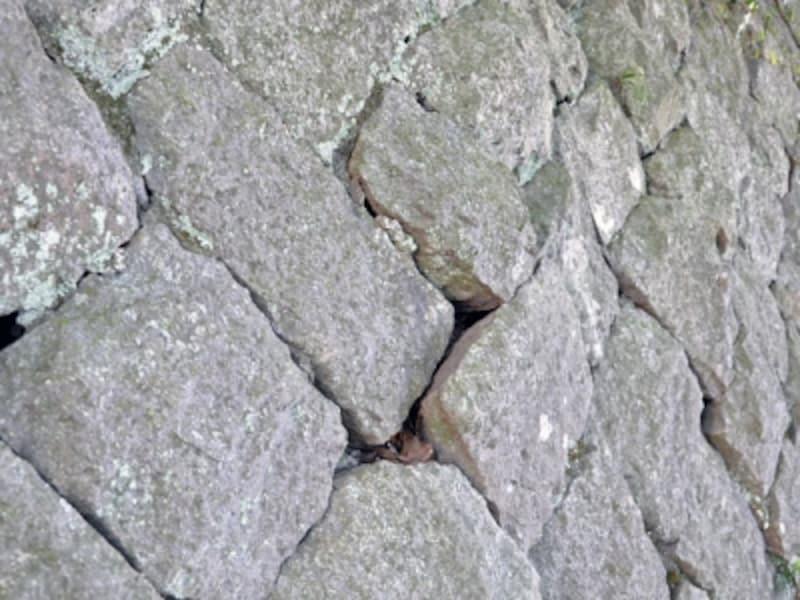 膨らみのある擁壁