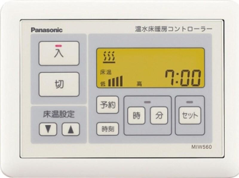 温度制御やタイマー機能などを簡単操作。[フリーほっと温すいundefinedコントローラー]undefinedパナソニックエコソリューションズundefinedhttp://sumai.panasonic.jp/