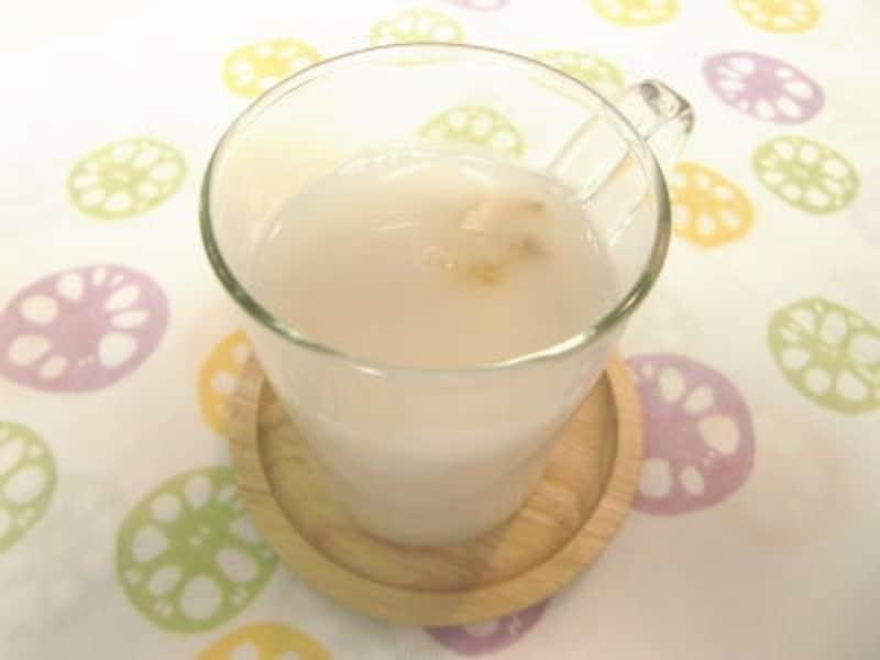 レンコン甘酒