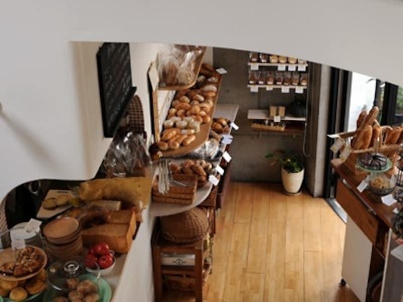 パンの売り場
