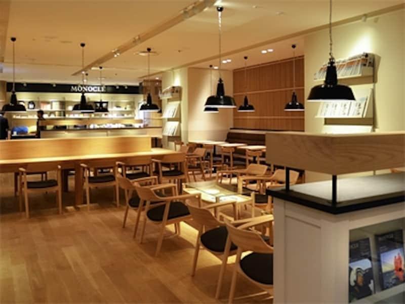 グローバル情報誌『MONOCLE』が展開するカフェ。
