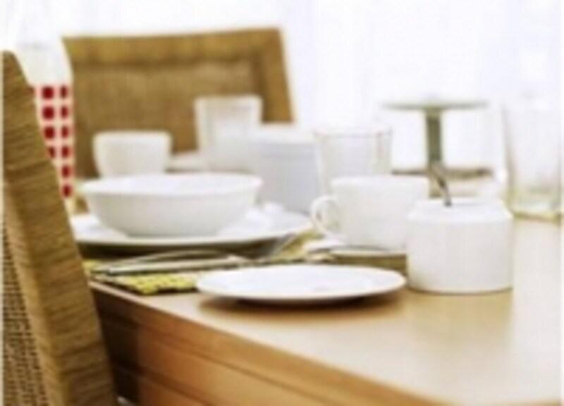 忙しいお母さんにとって、食事の時はゆっくり腰をおろせる唯一の時間です。