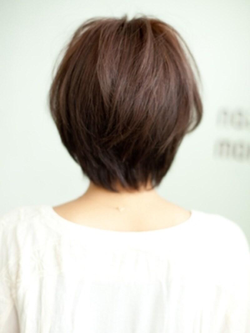 40代undefined似合う髪型undefinedショート