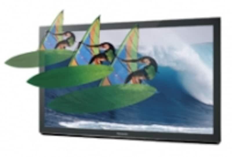 DIGAには3Dの奥行き量を調整できる機能が搭載され、好みの3D表現を楽しめるようになっている
