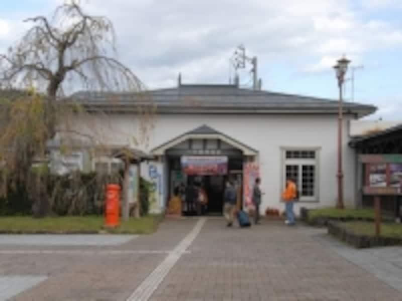内陸線の角館駅
