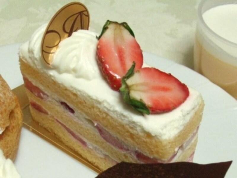 アブルームの「苺のショートケーキ」