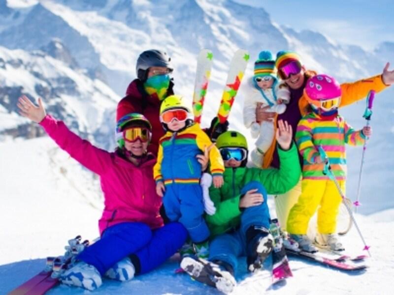 日帰りでスキーデビューをしよう!