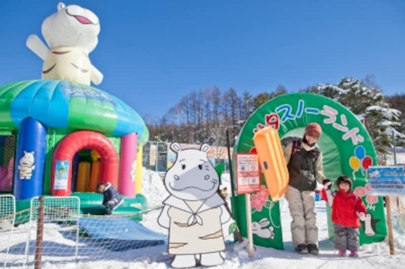 子供スキーデビュー、子連れスキーホテル・旅行・泊まり ポタスノーランド