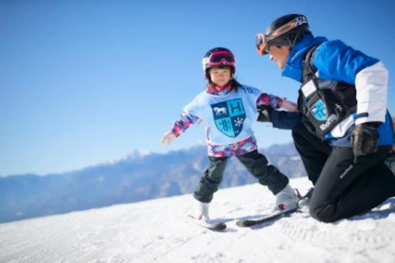 子供スキーデビュー、子連れスキーホテル・旅行・泊まり 星野リゾート