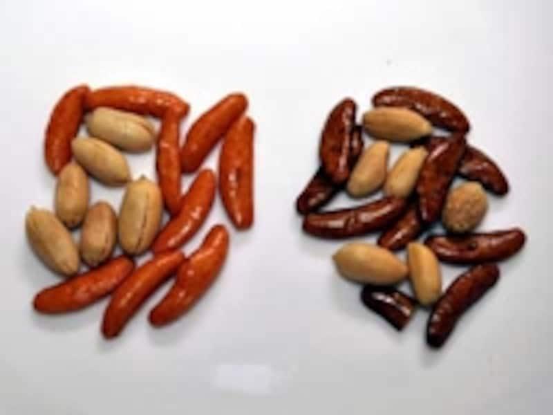 柿の種AKA・柿の種KUROundefined内容物