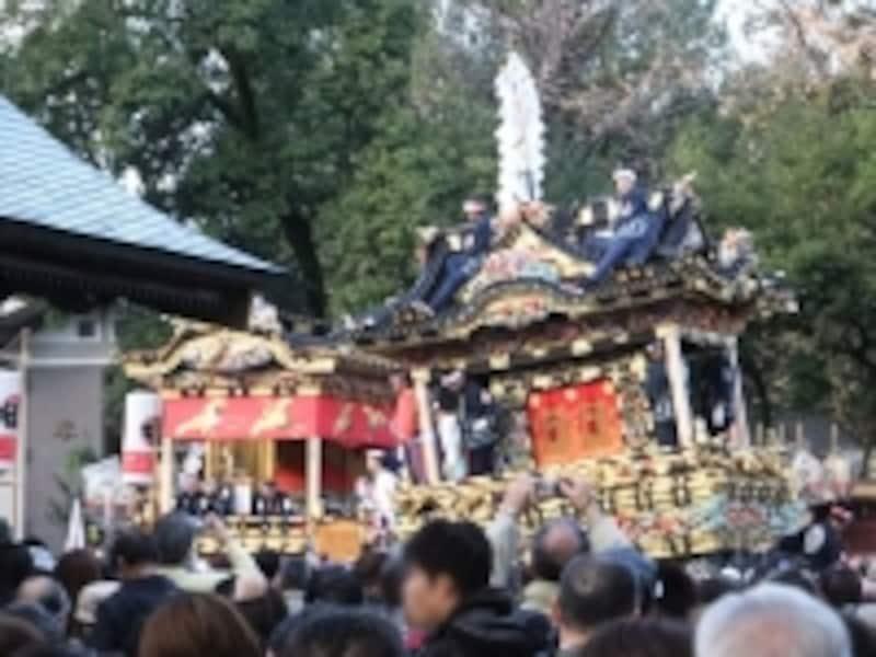 秩父夜祭(2)/宮地屋台と中近笠鉾