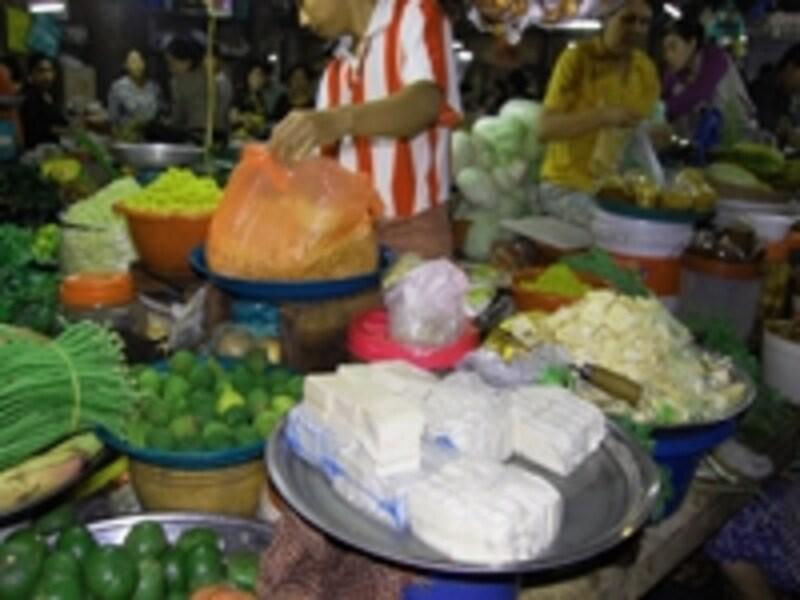 カンボジアの市場