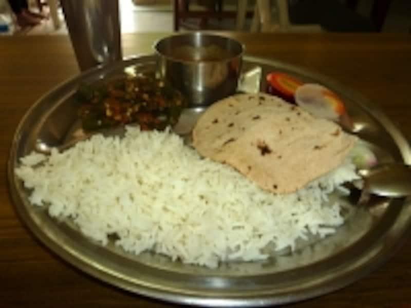 とても美味しい食事