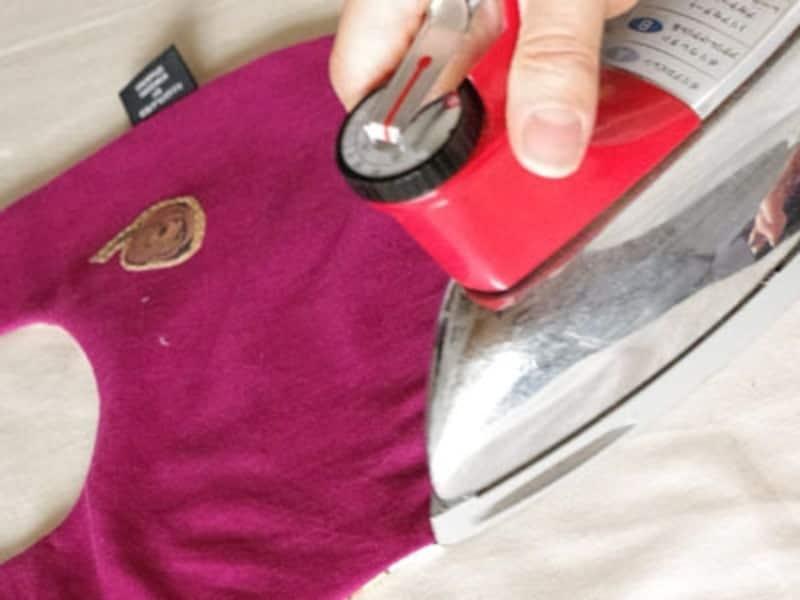 縫い端を整えながらアイロンがけすることで仕上がりがグッときれいに