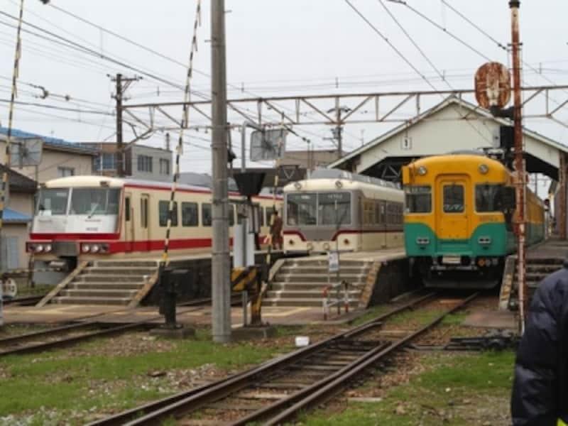 地鉄の3種類の電車