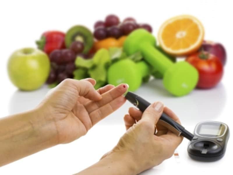 血糖値の自己測定