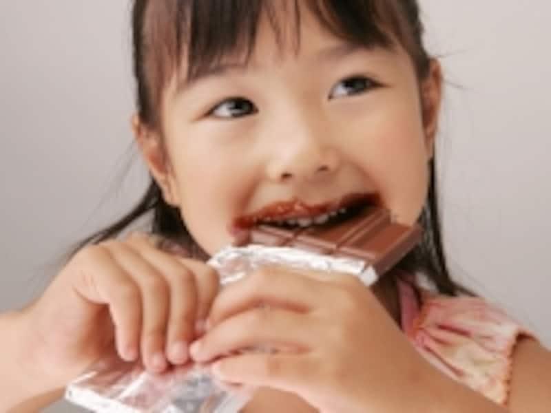 子供が知らない間にお菓子を食べると在庫不足に