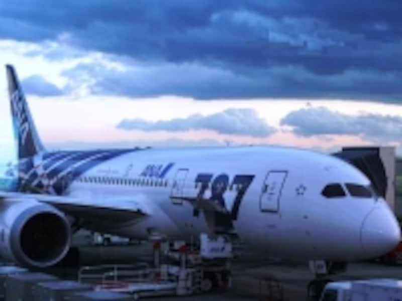 最新鋭旅客機B787
