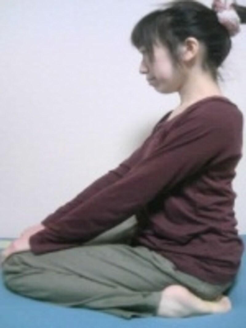 座っても痛くない安定した場所を選びましょう