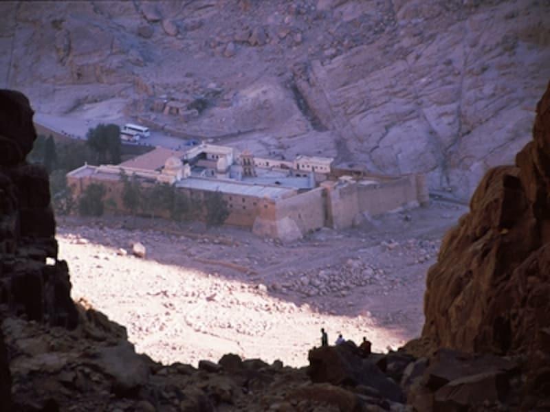 聖カトリーナ修道院地域