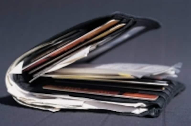 典型的なミルフィーユ財布!芸能人のお財布では、あまり見かけませんでした。