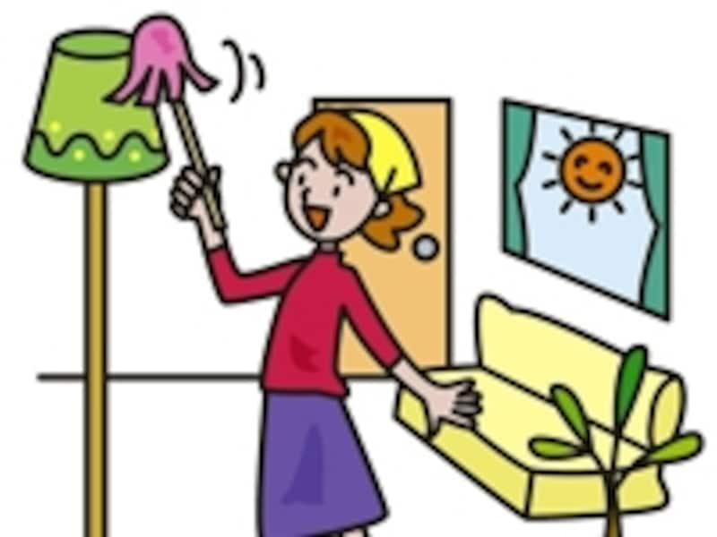 キレイにお掃除した家には良運がやってくるというのも風水の大切な教えのひとつです。