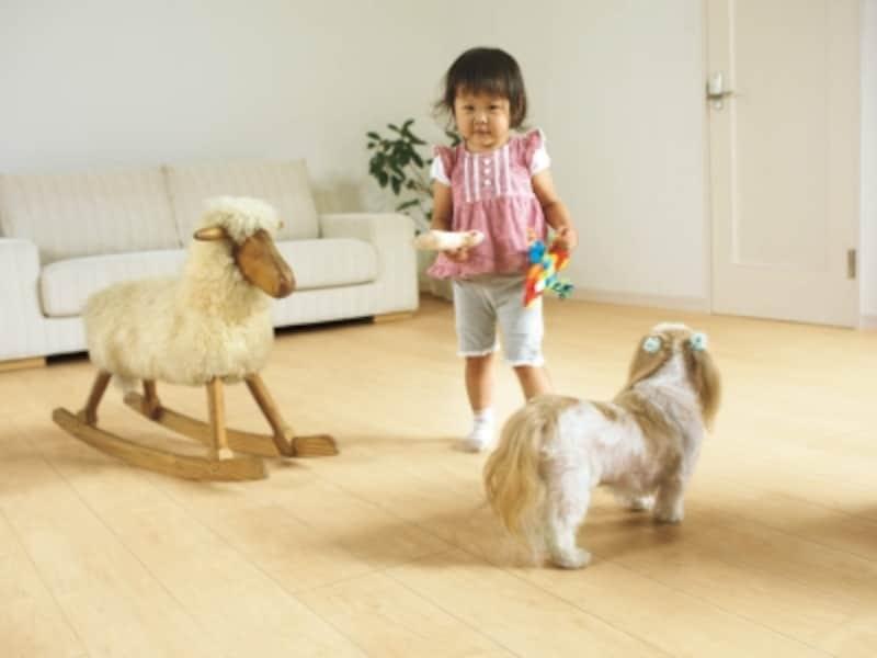 ペット、子供用床材
