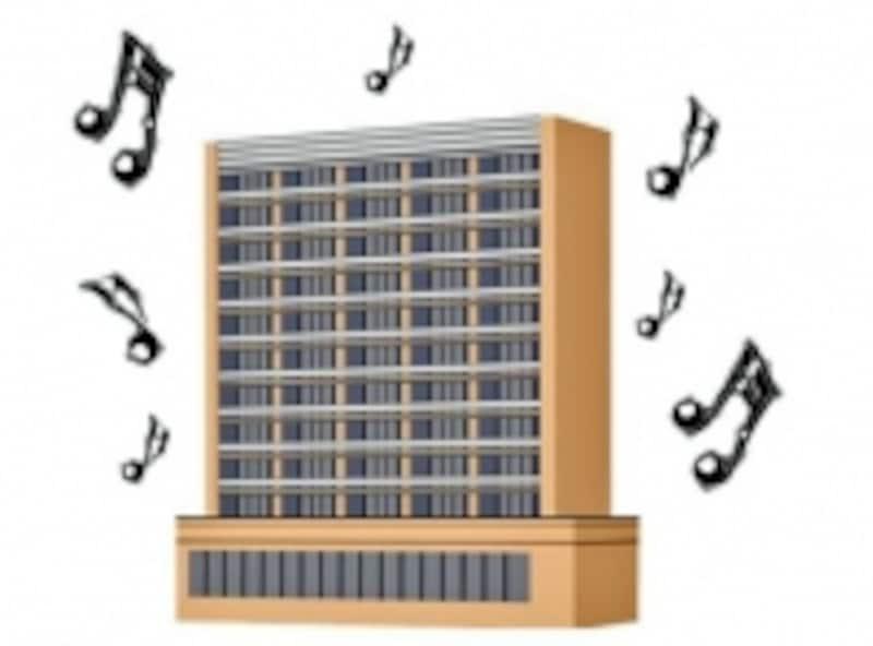 マンションに住む時に最も気になることは近隣との騒音問題です。