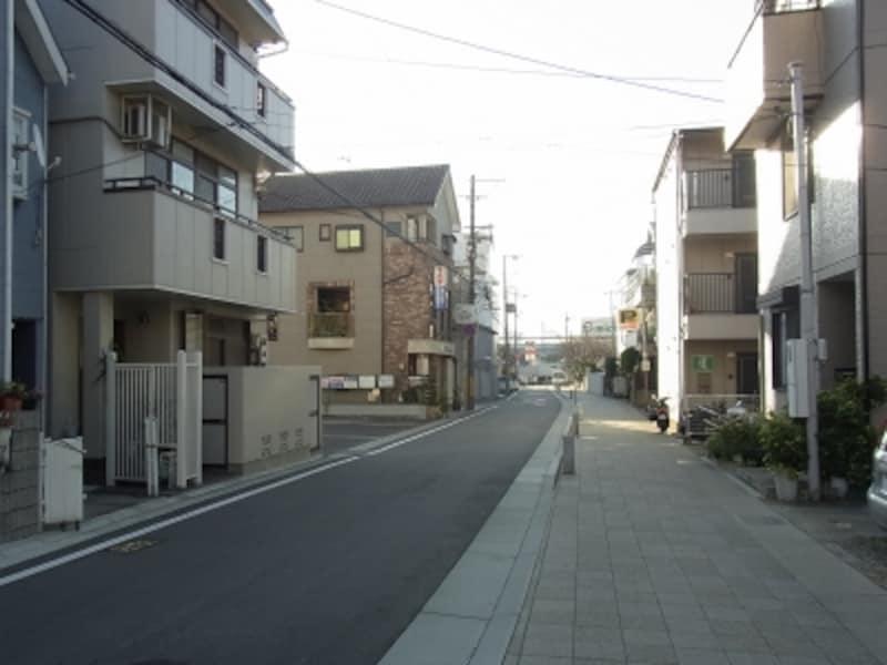 神戸まちづくり御影、整然とした街並