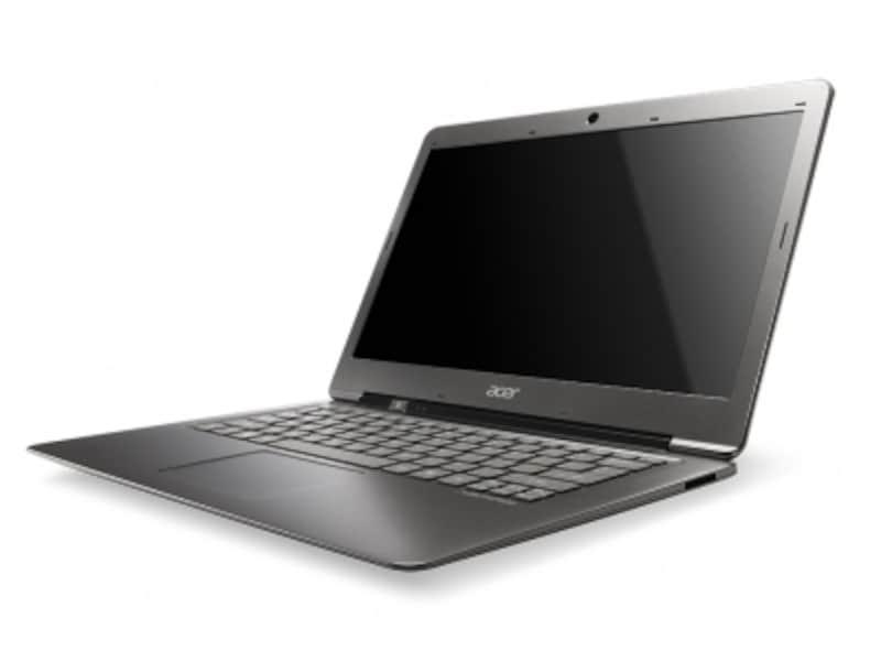 AcerAspireS3にはSSDタイプとHDDタイプが用意されている
