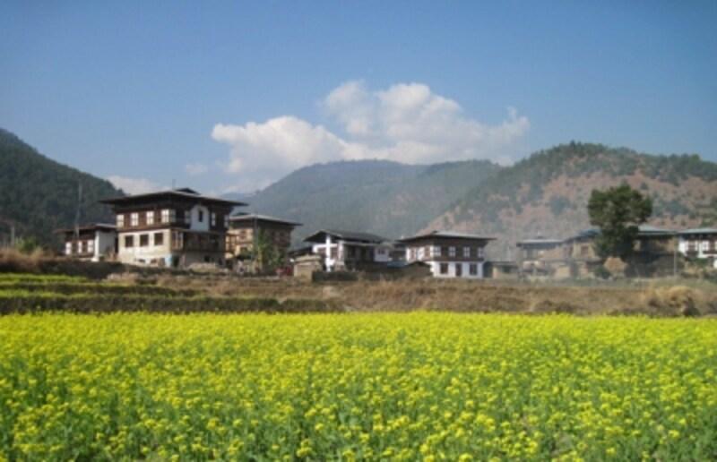 ブータンの春