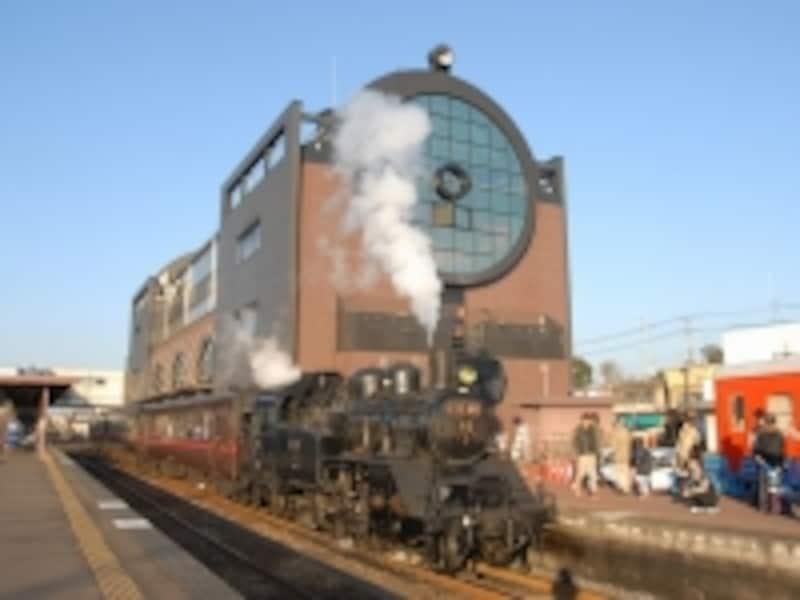 真岡駅のC12