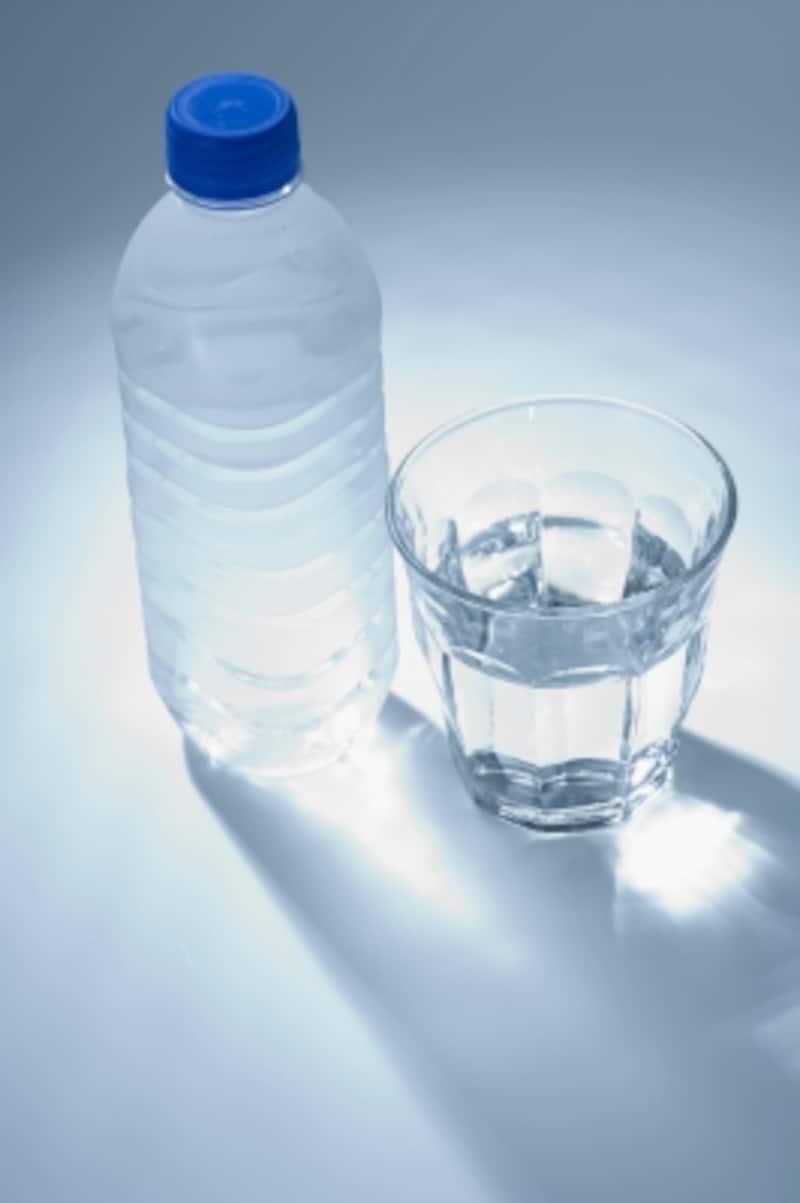 翌朝は、まず水分補給を。