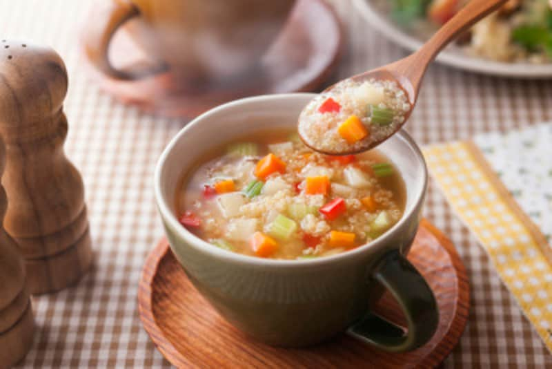 野菜たっぷりのスープや鍋は、やっぱりダイエットに最適。