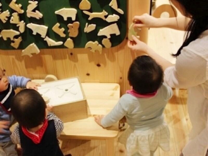 お受験対策の幼児教室も人気