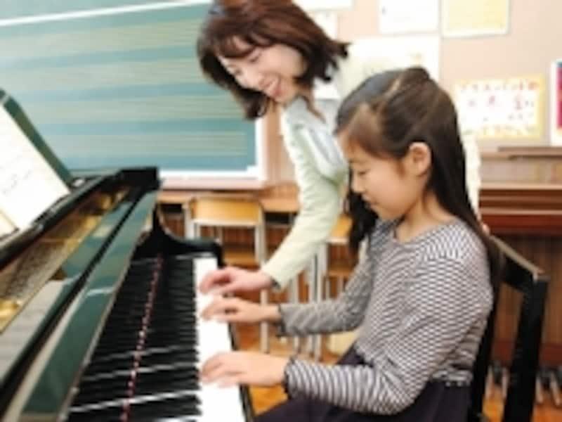 女の子はもちろん、男の子にも人気のピアノ