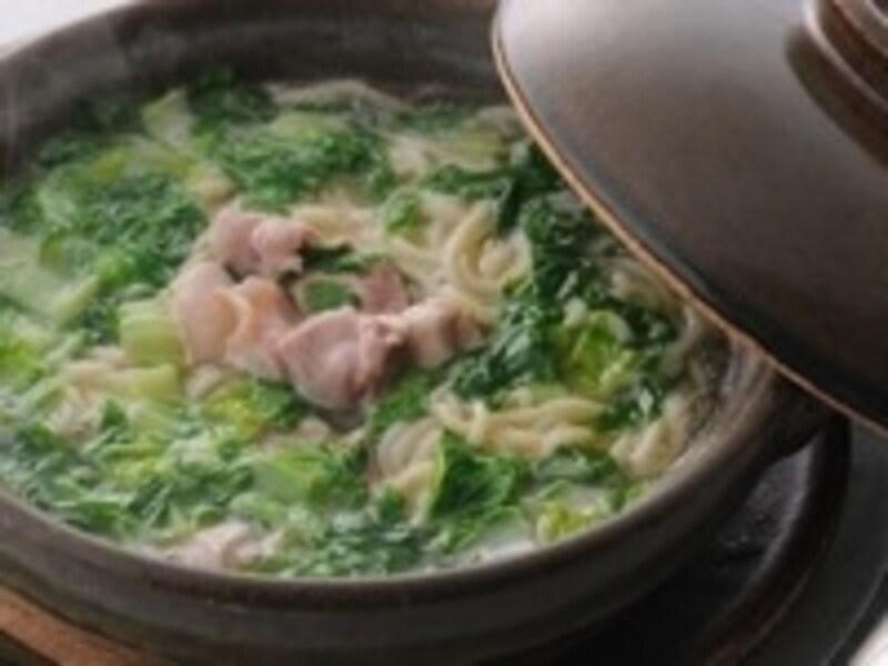 コラーゲン地鶏煮込みそば1500円