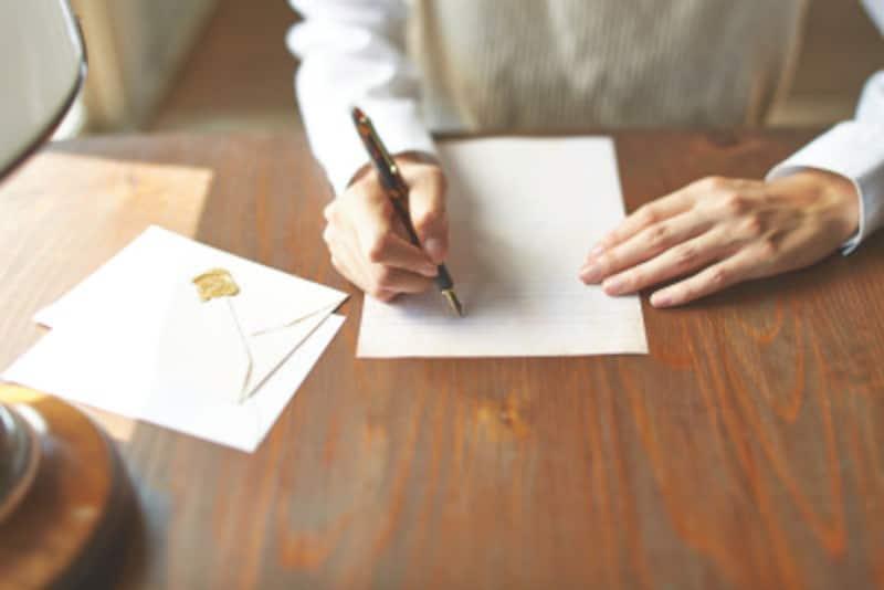 災害見舞い・病気見舞いなどのお礼状は心を込めて執筆