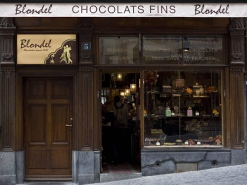 スイスのローザンヌに唯一あるお店