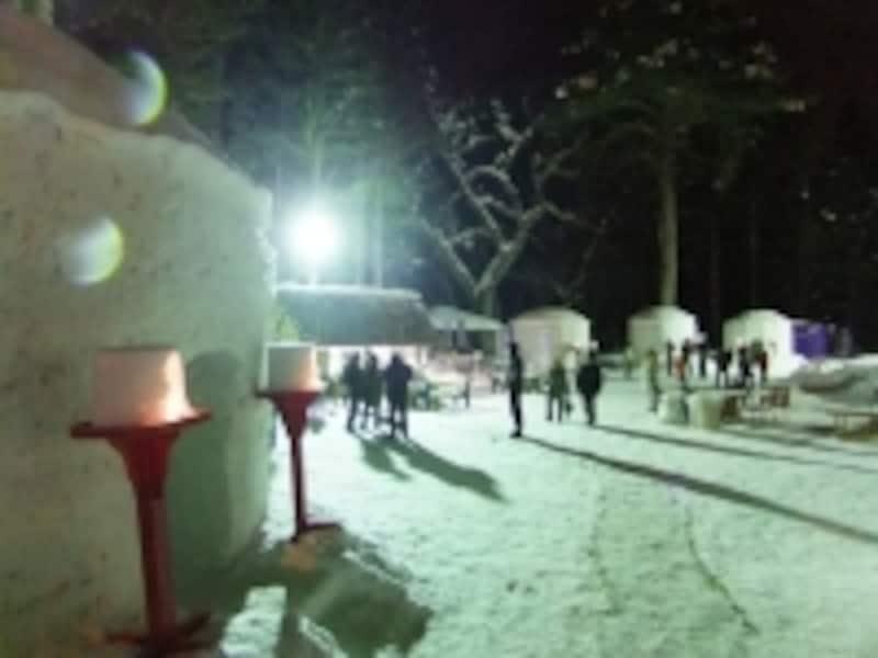 湯西川温泉・かまくら祭り(4)