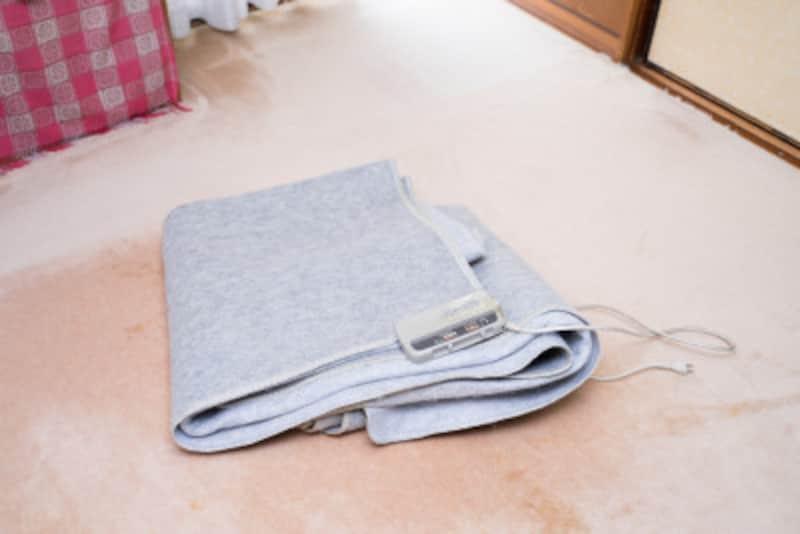 ホットカーペット(電気毛布)の正しい洗い方