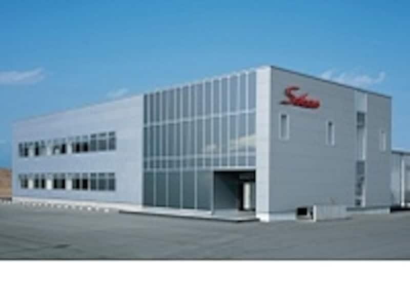 栃木県矢板市にある壮関の本社。敷地内には工場もある。