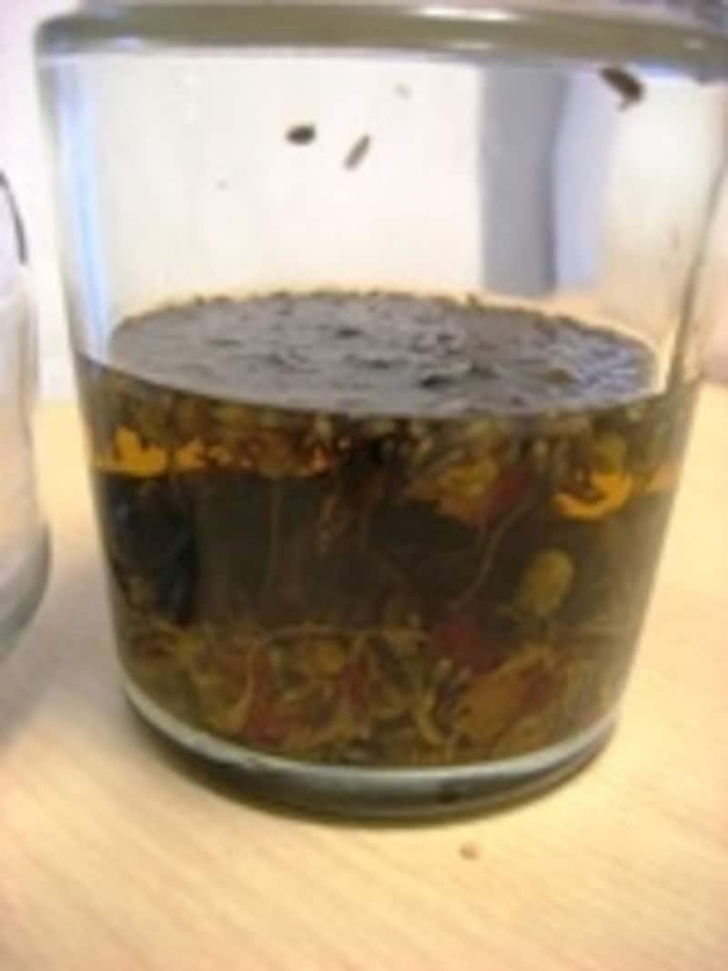 ドライハーブ浸出液