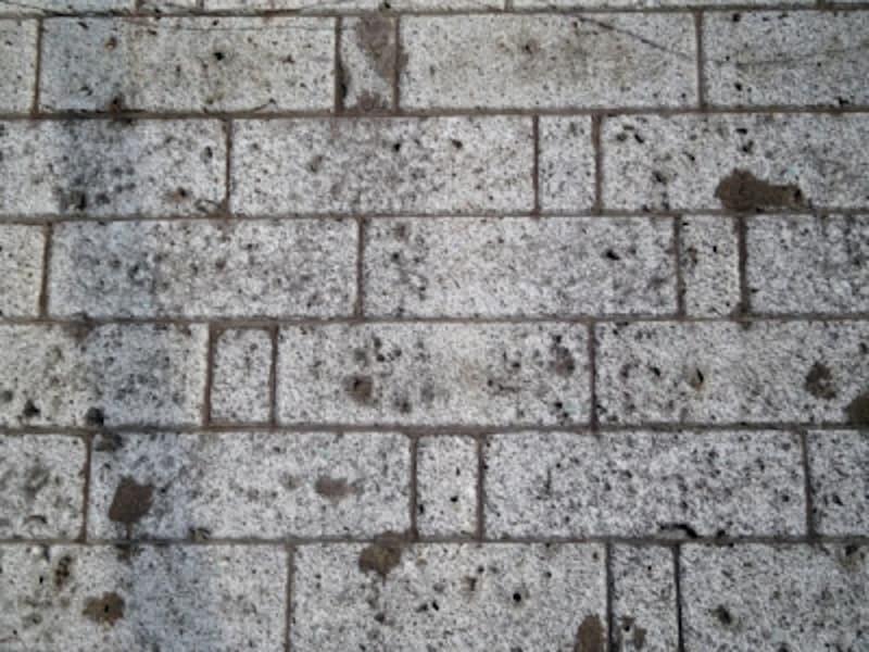 大谷石の擁壁