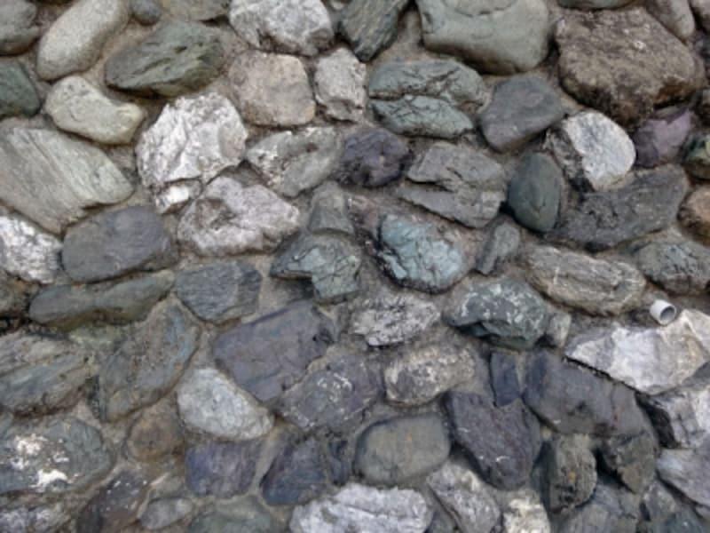 石積の擁壁